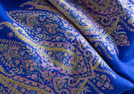 Handgewebter Kashmir-Schal