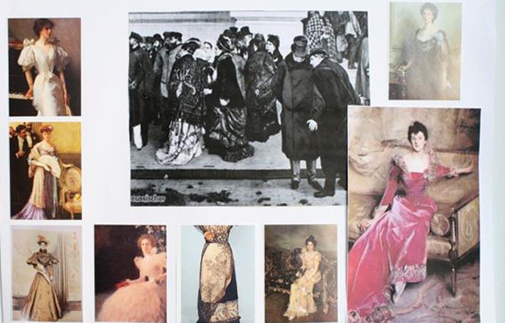 Kostümrecherche – Adele Spitzeder